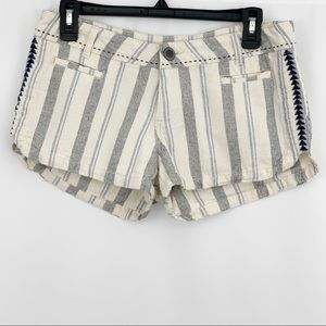 Mossimo Striped and Embroidered Shorts 7